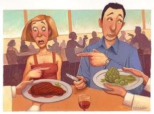 vegetariano carnivoro